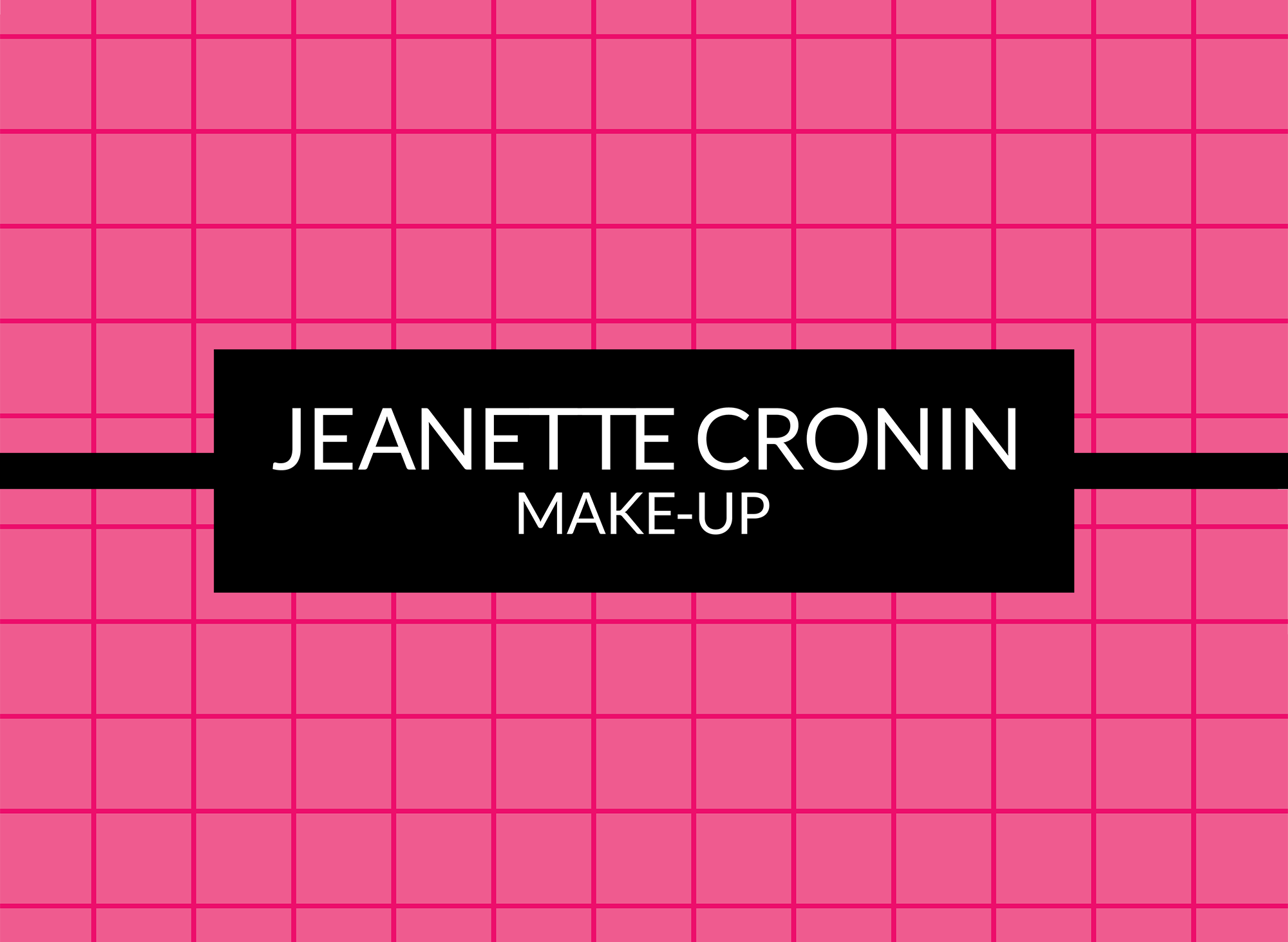 Jeanette Cronin Make-up Artist