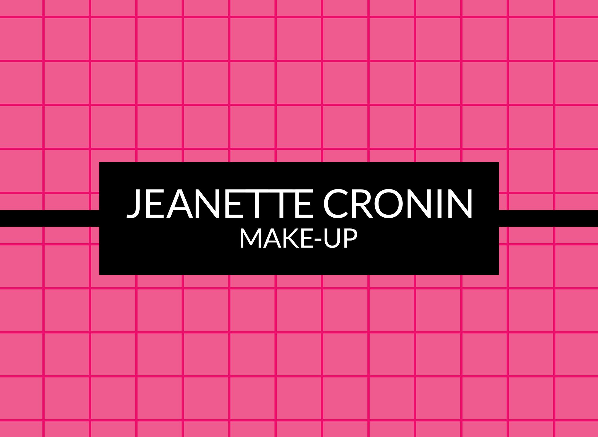 Jeanette Cronin Make-up Artist